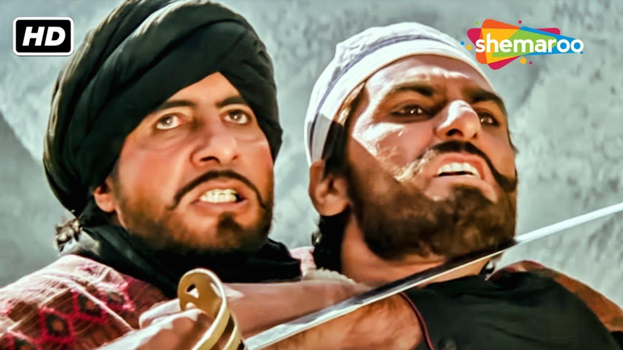 Download बादशाह खान ने किया दुश्मनो पर हमला | Amitabh Bachchan | Sridevi | Khuda Gawah