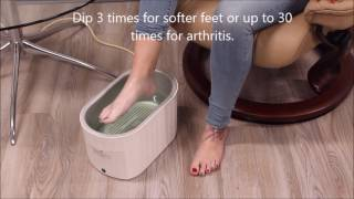 How to Use The Therabath Pro for Hands and Feet at Home