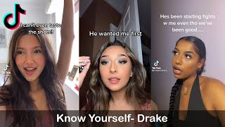 I Was Runnin' Through The 6 With My Woes Trend | Know Yourself- Drake | | TikTok Compilation