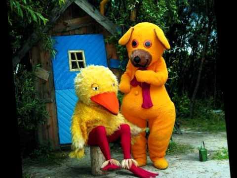bamse og kylling regnsangen lyrics