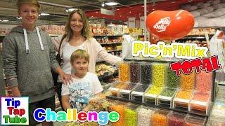Jelly Belly Beans Pic n Mix Total Challenge TipTapTube Kinderkanal