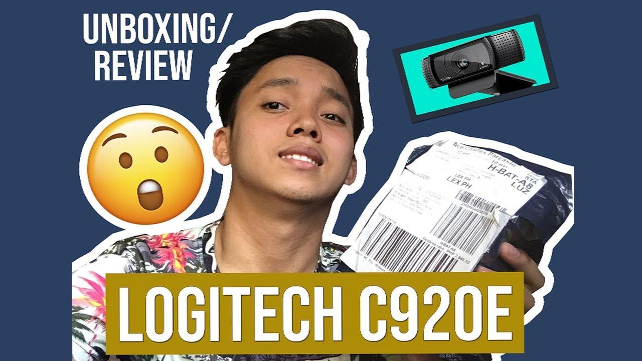 [UNBOXING/REVIEW] - Logitech C920e