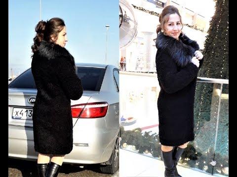 Вязаное пальто своими руками спицами