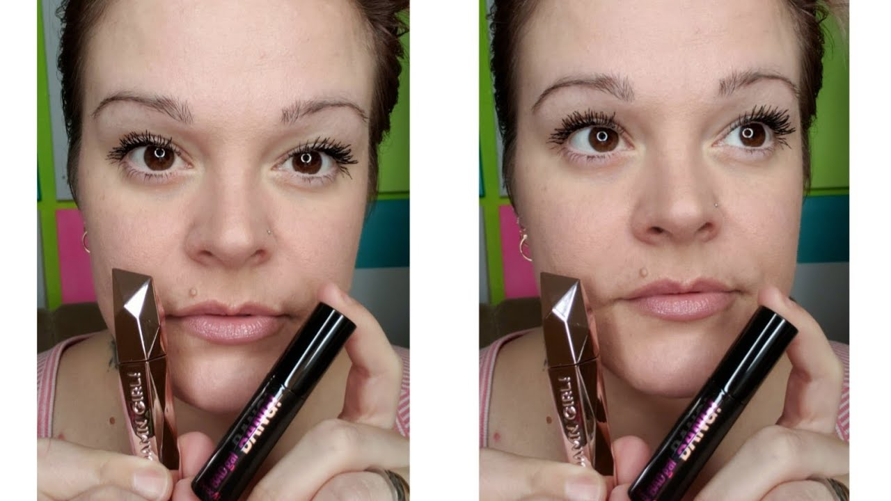 62e65438ad7 🌟Too Faced DAMN GIRL Mascara🌟First Impression & Face off with Benefit BAD  GAL BANG