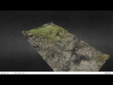 3D Reconstruction of marine sites and Halimeda Identification