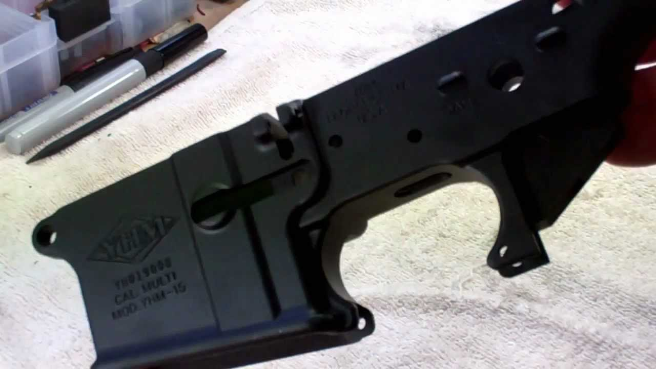 Yankee Hill YHM-125 Stripped Lower Receiver review
