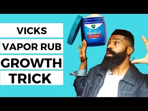Quick VICKS VAPOR rub growth trick investigation | Natural Men's Beard Care