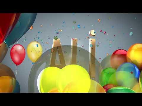 Doğum günün kutlu olsun Ali 🎁🎈🎉🎆