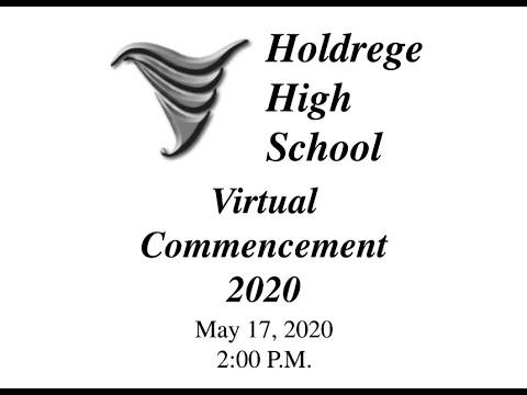 Holdrege High School Virtual Graduation 2020