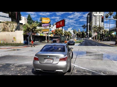 ► GTA 6 Graphics - BMW M5 E60! ✪ M.V.G.A. - Gameplay! 2017 Realistic Graphics MOD 60FPS
