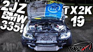 HPA VLOG #3 2JZ 335 TAKES TX2K19 !!! PORSCHE DRIVER GETS ARRESTED!!!