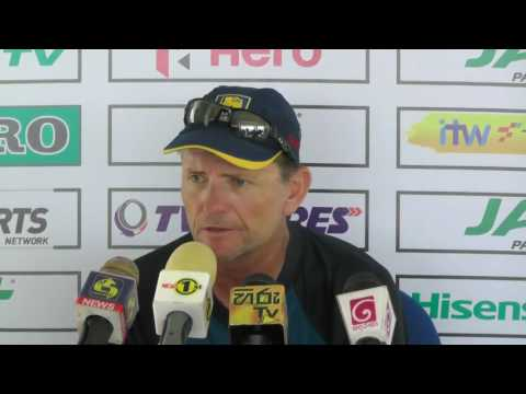 2nd T20I Pre Match Press Conference - Graham Ford & Darren Lehmann