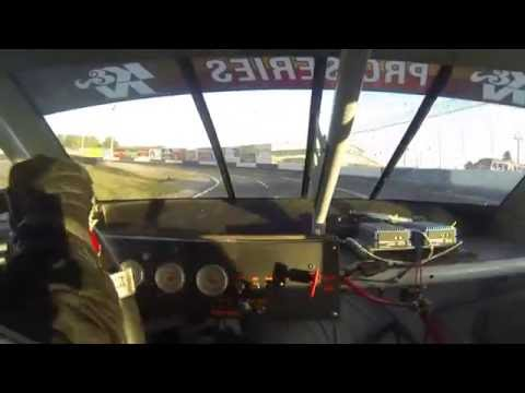 NASCAR K&N Pro Series CRASH at Evergreen Speedway