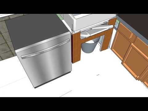 Kitchen sink garbage disposal ...special DIY .AND ideas
