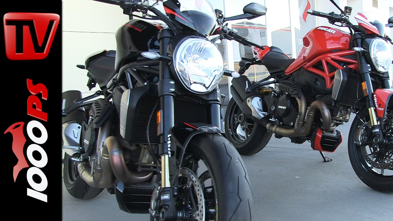 ducati monster 1200 r 2016 | special parts - youtube