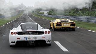 Project Cars 2 Ferrari Enzo at LeMans w/ Rain