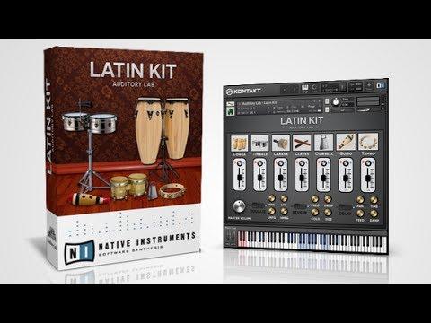 Latin Percussion Kit - VST/AU/AAX ( Demo Video )