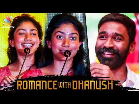 Romance with Dhanush Felt So Real : Sai Pallavi Speech | Maari 2 Press Meet