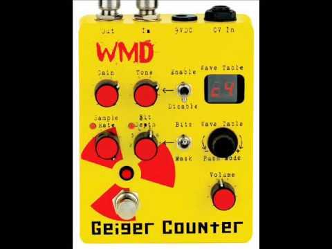 WMD Geiger Counter test