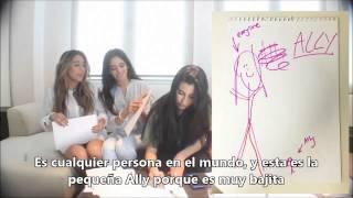 fifth harmony draw self portraits subtitulado