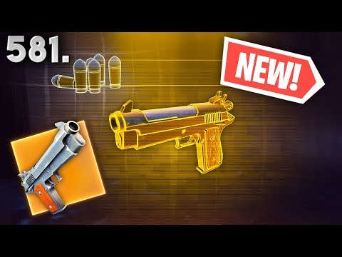 *NEW* LEGENDARY PISTOL FOUND..!! Fortnite Funny WTF Fails and Daily Best Moments Ep.581