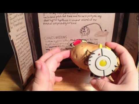 Think Geek S Portal 2 Potatos Science Kit Review Youtube