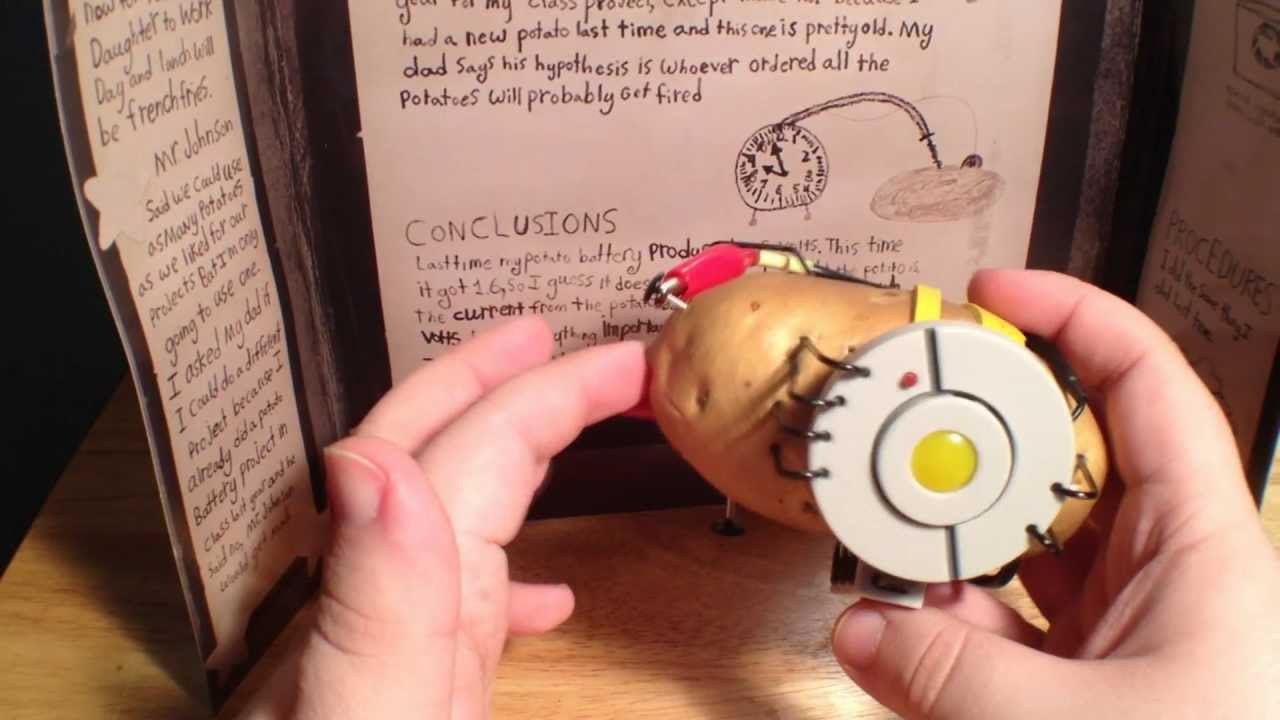 Think Geek S Portal 2 Potatos Science Kit Review