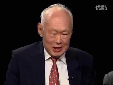 One hour with Mr Lee Kuan Yew