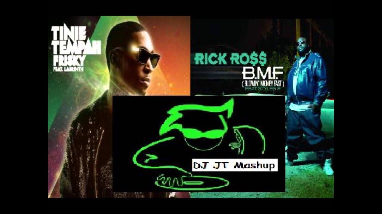 Download Rick Ross Vs Tinie Tempah - Frisky B.M.F. (DJ JT Mashup Mix)