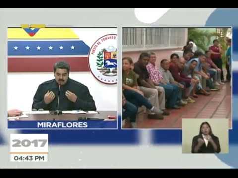 Nicolás Maduro desde Puesto de Comando Presidencial: Cero incidentes en elecciones regionales 2017