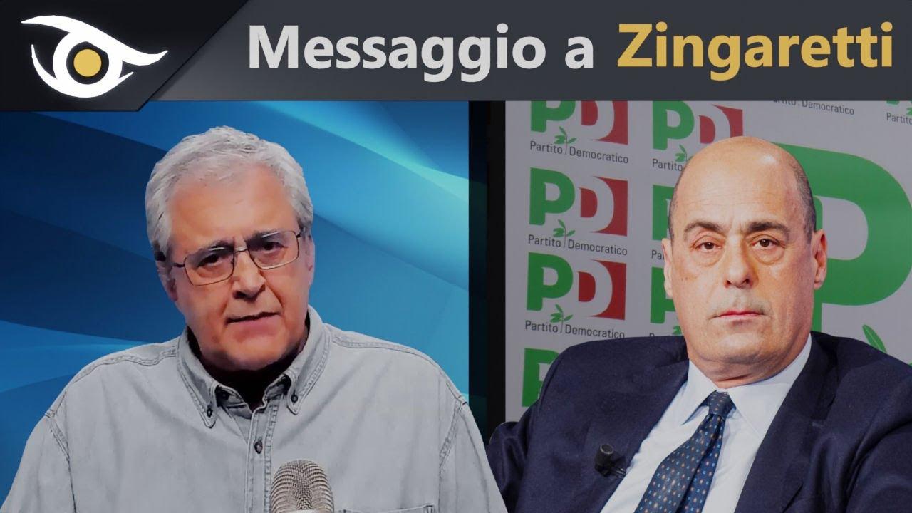 Mazzucco demolisce Zingaretti e i suoi obblighi vaccinali carte alla mano