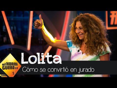 Lolita desvela cómo se convirtió en jurado de 'Tu cara me suena' - El Hormiguero 3.0