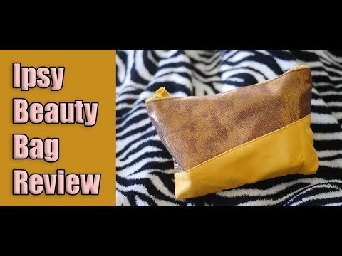 Ipsy Glam Bag Review (Great Bargain!)