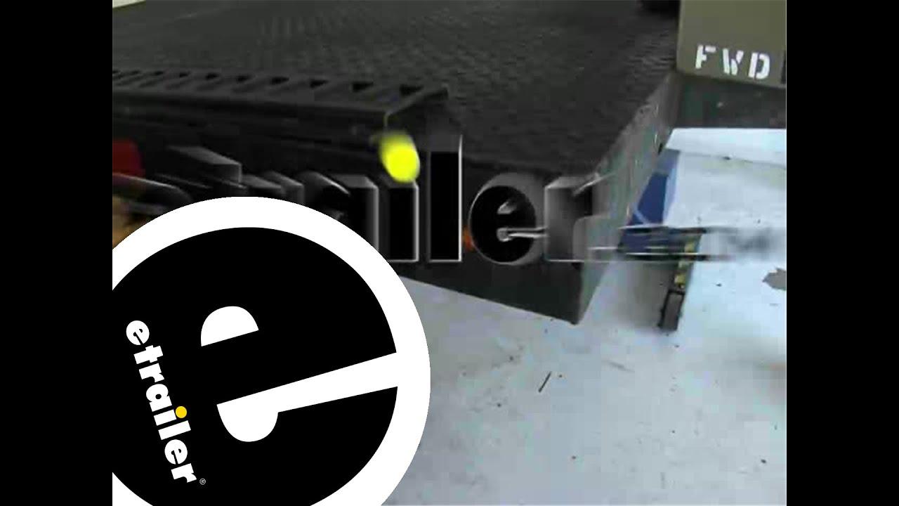 Installation Of The Optronics Mini Led Side Marker Light Etrailer Trailer Wiring Diagram Etrailercom