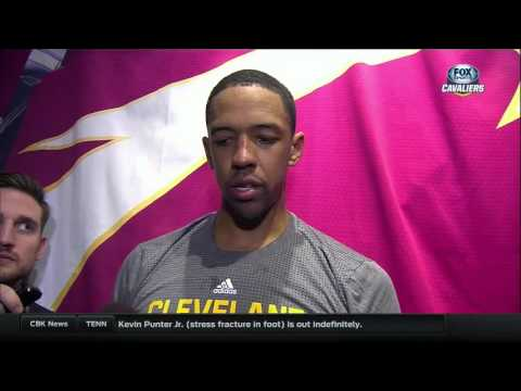 Cleveland Cavaliers Channing Frye talks with Cleveland media for first time