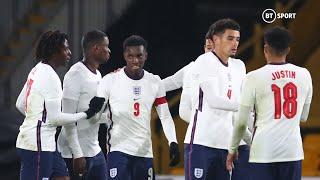 Eddie Nketiah breaks England goalscoring record! | Highlights: England U21s vs Turkey U21s (2-1)