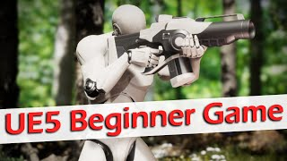 How to Create a Game in Unreal Engine 5 - UE5 Beginner Tutorial