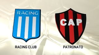 Racing Club vs Patronato de Parana full match