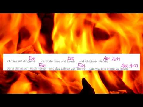 Wenn du liebst - Clueso - -Lyrics and Chords -- Campfire Version - Musikschach