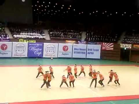 一条高校ダンス部 Dance Drill Winter Cup 2015