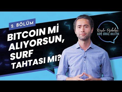 Bitcoin mi Alıyorsun, Surf Tahtası mı? | Kripto-Psikoloji: Barış Gürkaş Anlatıyo