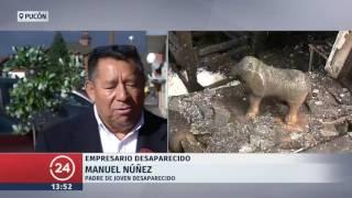 Investigan extraña desaparición de empresario en Pucón