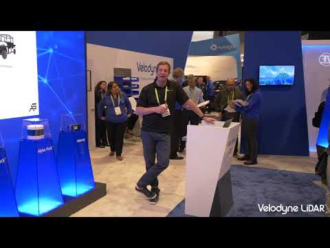 Velodyne CES 2019 - Autonomous Stuff