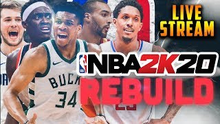 The First Ever NBA 2K20 Rebuild...