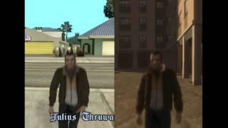 GTA SA vs GTA IV (car stealing)