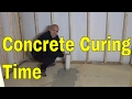 How Long Does Concrete Take To Cure-Concrete Drying Time