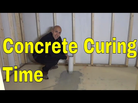 How Long Does Concrete Take To Cure Drying Time