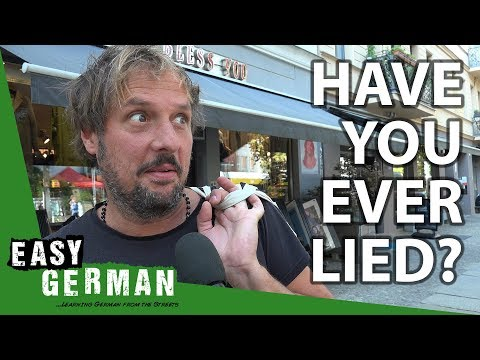 Are Germans liars?