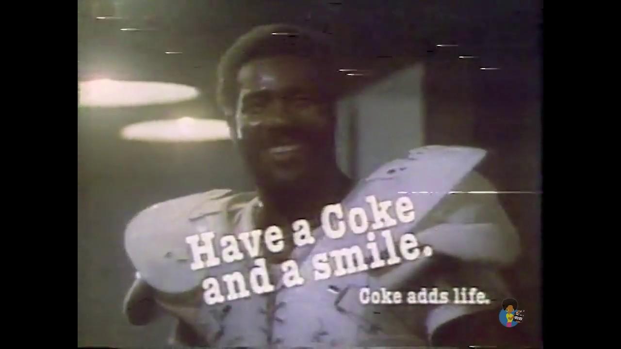 Hey Kid Catch Mean Joe Greene For Coca Cola 1979 Youtube