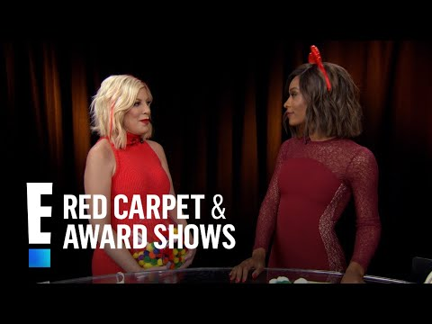 Tori Spelling Sends Her Love to Shannen Doherty | E! Live from the Red Carpet